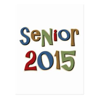 Senior 2015 postcard