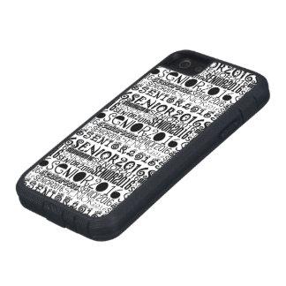 Senior 2016 iPhone 5 Tough Extreme Case iPhone 5 Cover