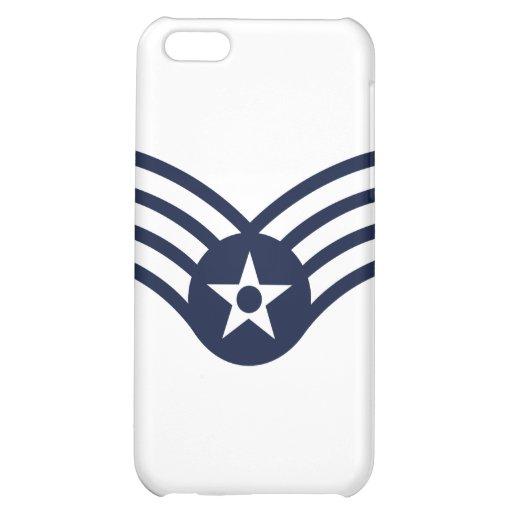 Senior Airman E-4 Cover For iPhone 5C