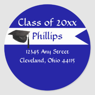 Senior Blue Envelope Seal