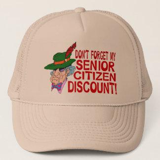 Senior Citizen Discount Trucker Hat