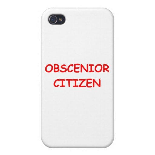 SENIOR citizen iPhone 4/4S Covers
