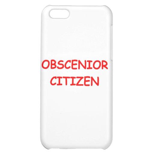 SENIOR citizen Case For iPhone 5C