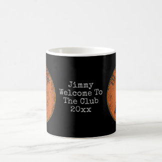 Senior Citizen Old Crow Geezer Gag Gift Coffee Mug