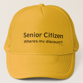 Senior Citizen Trucker Hat