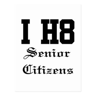 senior citizens postcard