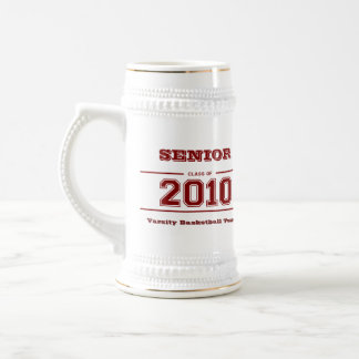 Senior Class of 2010 Graduation Gift Stein Mugs