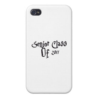 Senior Class Of 2011 Cover For iPhone 4