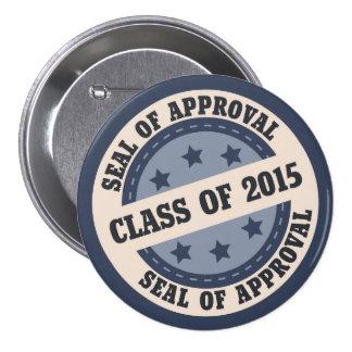 Senior Class of 2015 Badge Pins