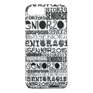 Senior Class of 2015 iPhone 7 Barely There Case