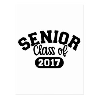 Senior Class of 2017 Postcard