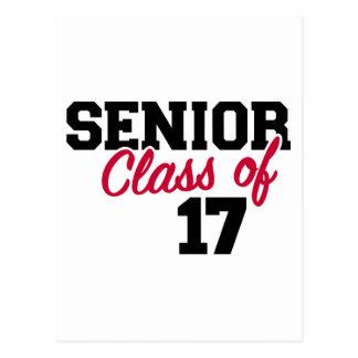 Senior Class of 2017 Postcard