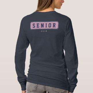 Senior Class of 2018 Gingham Graduation T-Shirt