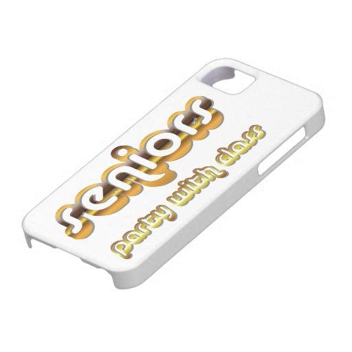 Senior Class Party Graduation Humor Design iPhone 5 Cases