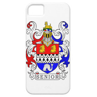 Senior Coat of Arms iPhone 5 Covers