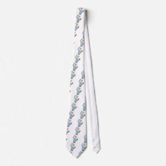 Senior Confused With Smartphone Tie