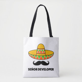 Senior developer tote bag
