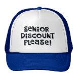 Senior Discount Trucker Hat