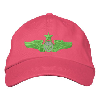 Senior Enlisted Member Embroidered Hat