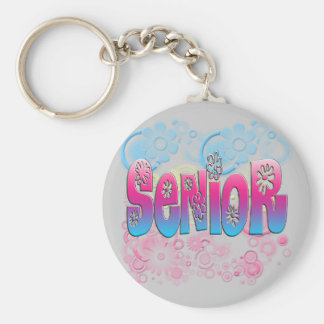 Senior - Flowers 2 Keychain