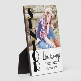 Senior Graduation Photo Keepsake Plaque