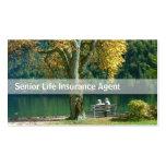 Senior Life Insurance business card