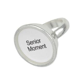 Senior Moment ai Photo Ring