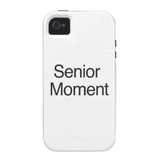 Senior Moment Vibe iPhone 4 Cases