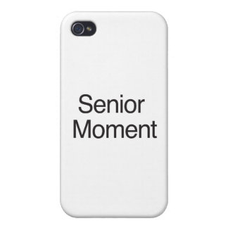 Senior Moment iPhone 4 Cover