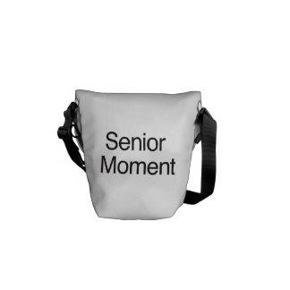 Senior Moment Messenger Bag