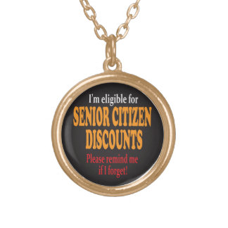 Senior Moment Necklace