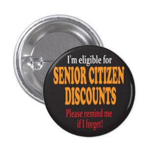 Senior Moments | Milestone Birthday 1 Inch Round Button