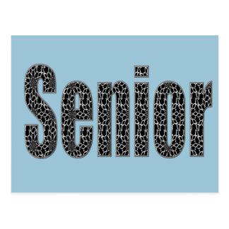 Senior Postcards Change the Background Color