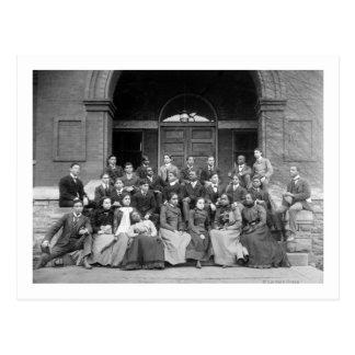 Senior Preparatory Class at Fisk University Postcard