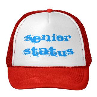 Senior Status Hats