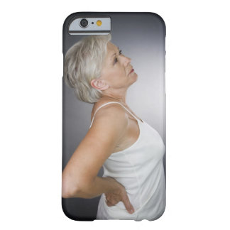 Senior woman with backache iPhone 6 case