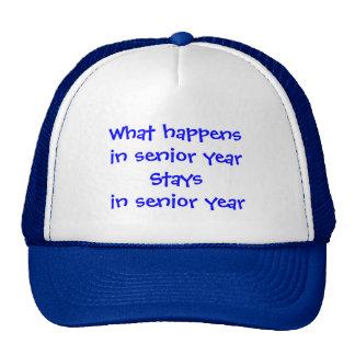 Senior Year Trucker Hat