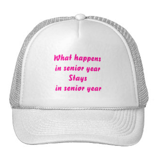 Senior Year Hat