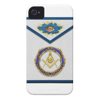 seniordeaconMasonic Senior Deacon Apronapron Case-Mate iPhone 4 Case