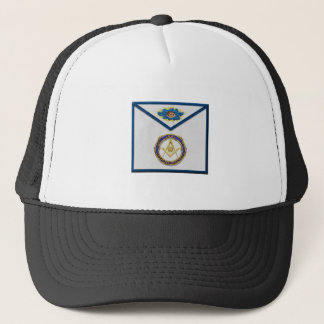 seniordeaconMasonic Senior Deacon Apronapron Trucker Hat