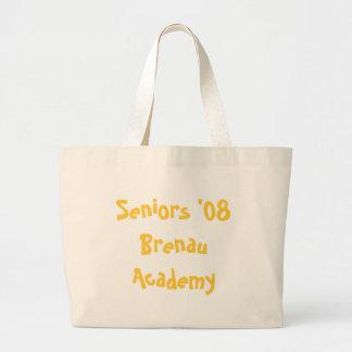 Seniors '08 jumbo tote bag