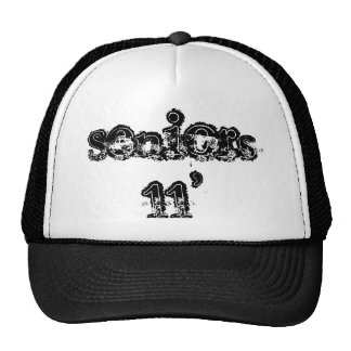 Seniors 11' hat