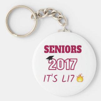 Seniors Class of 2017 - It's Lit Keychain
