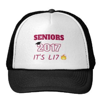Seniors Class of 2017 - It's Lit Trucker Hat
