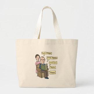 Seniors Estate Planning Research Jumbo Tote Bag