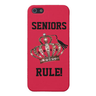 """""""SENIORS RULE!"""" iPhone 5/5S COVER"""