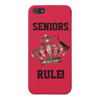 """SENIORS RULE!"" iPhone 5/5S CASE"