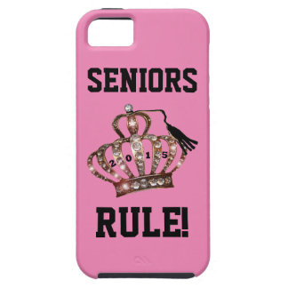 """Seniors Rule!"" Tiara iPhone 5 Case"