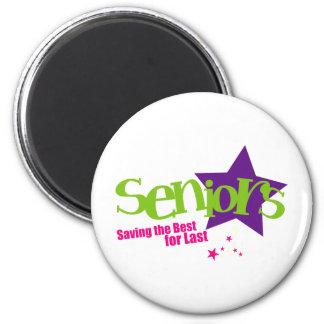 Seniors Saving the Best for Last Magnet
