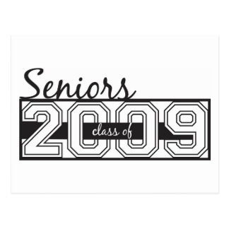 Seniors Signature Card Postcard